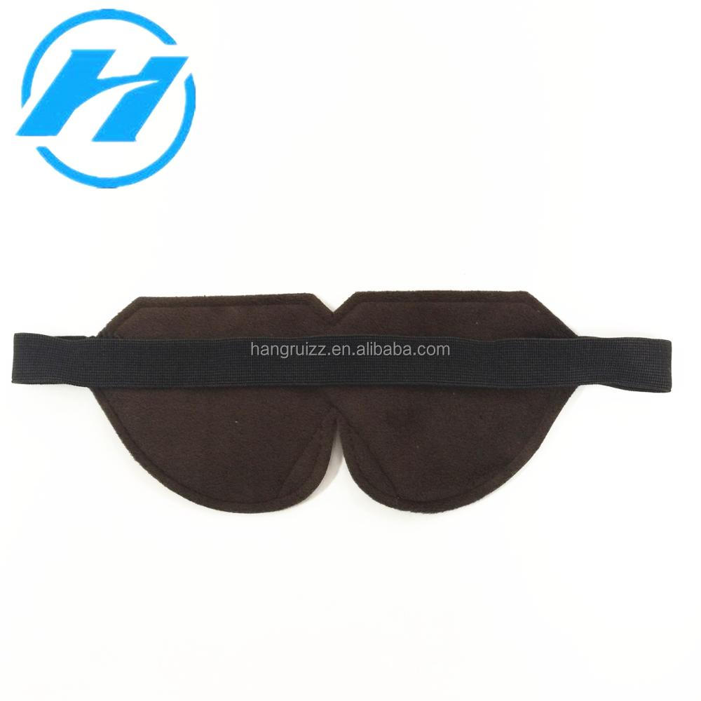 Manufacturer Wholesale Airline Disposable Oxford Travel Sleeping Eye Mask/Eyeshade