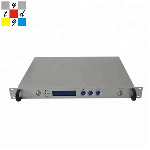 Fiber Optic direct Modulated 1550nm direct function CATV Transmitter 13~19dB for photoelectricity equipment