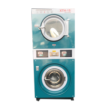 factory price hot selling industrial washer and dryer cover top 12kg used in dry cleaning shop
