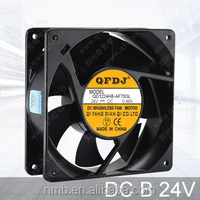 12038 dc 24v 4 inch small cooling Fan with 7 impellers