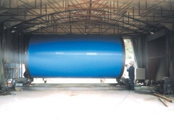 Powder welding type Polyethylene 3-layer Covering steel pipe (3LP)