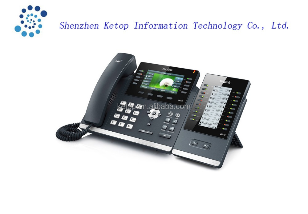 Ultra-elegant Gigabit IP Phone Yealink SIP-T46G