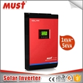 MUST factory price pure sine wave single phase 5kva grid-tie solar inverter with 60A MPPT charger