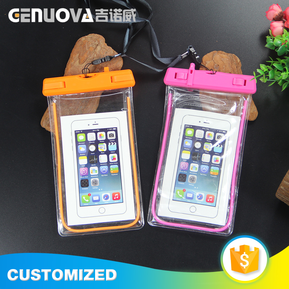 Manufacturer supply fashion design fancy style waterproof cell phone bag