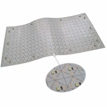 Creating innovative designs and unique lighting solutions flexible LED illuminated sheet