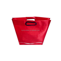 Custom needle puched colorful non woven shopping bags