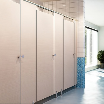 Aogao 26 series compact hpl laminate toilet cubicle