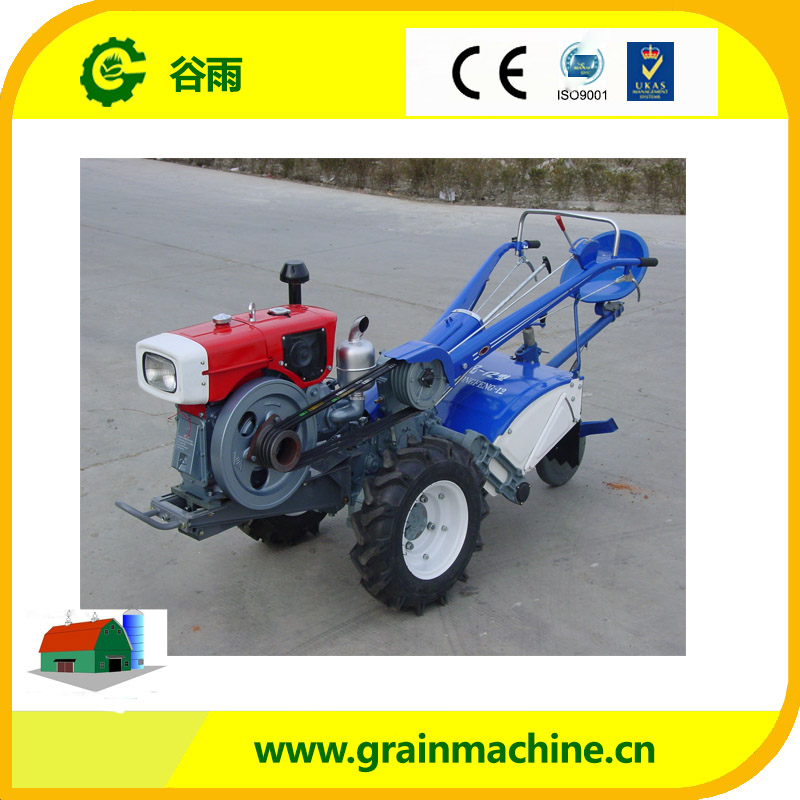 Cheap Price Hand Driven Walking Diesel Tractor DF121