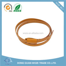 New Design Fashion Low Price leather belt without holes