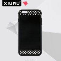 2 in 1 Fence Look TPU PC Mobile Phone Case For Iphone 6 6P XR-PC-106