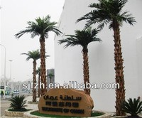 2014 Hot sale artificial palm tree landscape decoration indoor & outdoor washington fake palm tree