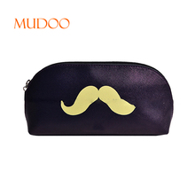 2018 KOREA CUTE SMALL PORTABLE WATERPROOF PEN POCKET POUCH HIGH QUALITY PU LEATHER PROFESSIONAL HAND COSMETIC BAG