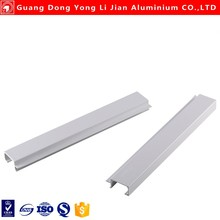 Aluminum extrusion for kitchen cabinet door