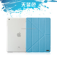 For Ipad Air Leather Case Folding Flip PC+PU With Standing