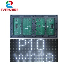 Evershine <strong>p10</strong> SMD <strong>1W</strong> white tupe outdoor single color <strong>led</strong> <strong>module</strong> for advertising <strong>led</strong> display screen price