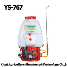 Zhejiang Taizhou Ouyi Manufacture of Hot Sale Popular Knapsack Engine Power Sprayer with a very Low Price for Agriculture 767