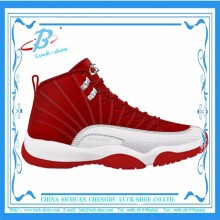 Men's High Top Sport Basketball Shoes New Brand Name Basketball Shoes Wholesale
