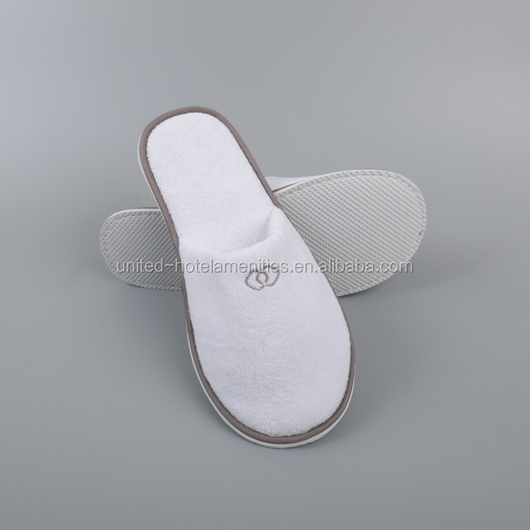 Super quality best sell terry toweling bath/bedroom slippers