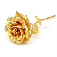 Valentines day wedding gfit 24K gold foil rose wholesale Mothers day birthday valentines day wedding gift