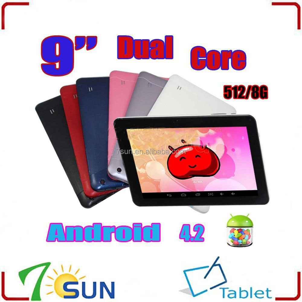 "xmas 2014 Action ATM 7021 Dual Core ARM V7 1.3GHz 9"" Tablet PC Android 4.4,RAM 1GB tablet 9 inch"