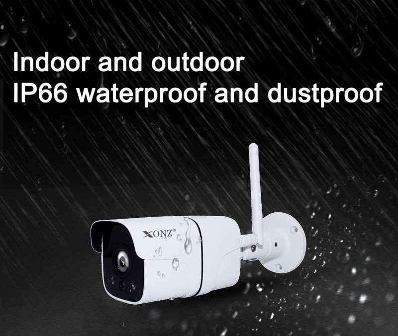 Best selling smart wireless waterproof wifi ip camera, mini style security system camera
