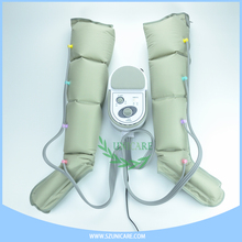 Arm sleeve lymphedema compression pump for leg & arm cuffs