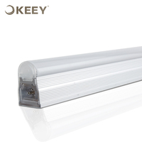 KEEY Led Hanging Tube Light T5 UL List 12W Cool White Aluminum Out Shape 120CM Customize T5 Indoor Lighting QYR4-LND12-6000K