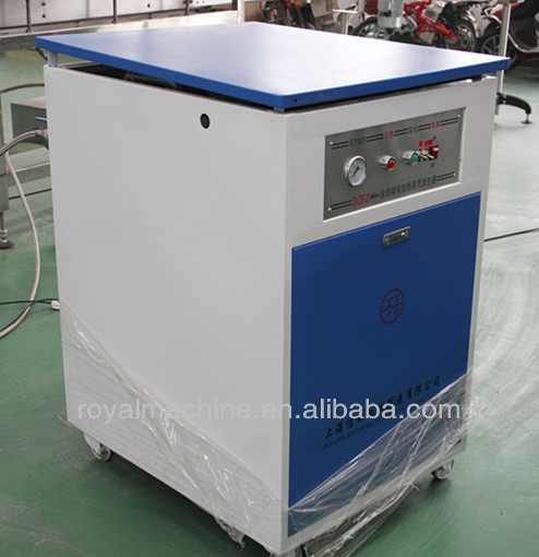 Electrical steam generator boiler with shrink tunnel
