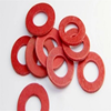 Red vulcanized fiber washer//Insulation gasket//Insulating washer