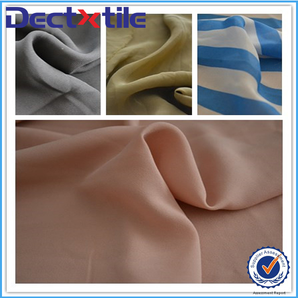 crinky fabric georgette cloth ruffly fabric polyester chiffon for dress/scarf/blouse/curtain