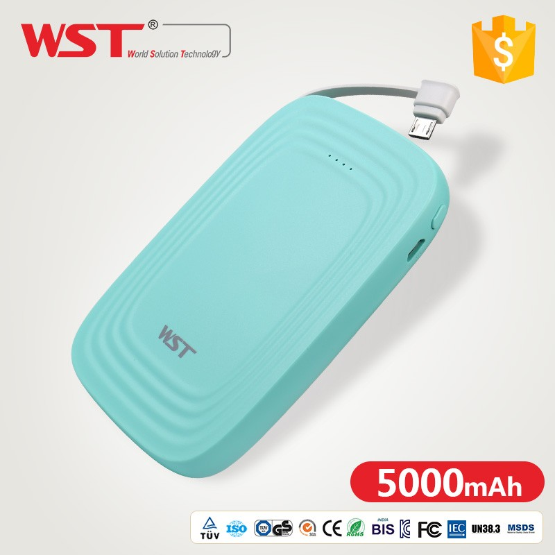 WST-WP925 Universal mobile phone li-polymer Battery mini mobile power pack portable