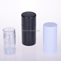 30ml 50ml 75ml round as plastic roll on deodorant empty bottle for sale