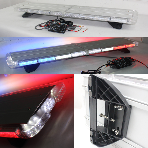 12v 24v police led roof light bar