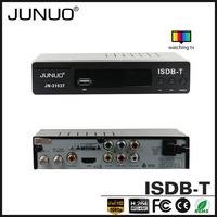 JUNUO china factory 2016 OEM new quality full hd strong tuner mstar Brazil tv decoder set top box isdb-t