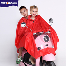 2016Long raincoat poncho colorful polyester Double poncho for motorcycle