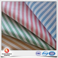 2016s new design high quality yarn dyed cotton striped oxford cloth fabric