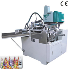 Automatic Paper Cone Sleeve Making Machine for Ice Cream from well machinery