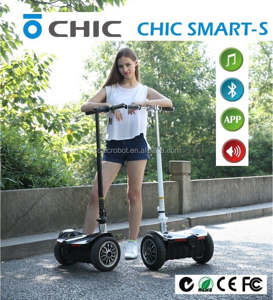 IO Chic Robot 2016 Hot Sale SAMSUNG Cell battery electric Balance Scooter With Hand Bar LS Hot Sale