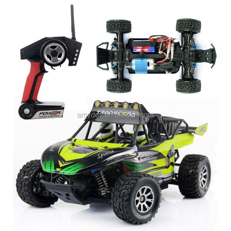 Wltoys K929 model cars 1:18 4WD 2.4G high speed rc vehicle monster truck Electrical Proportional Desert Off-road