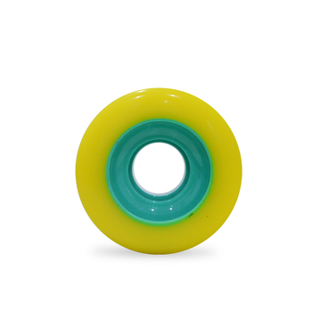Hot-sale PU core longboard wheels with Better Durability and Strength
