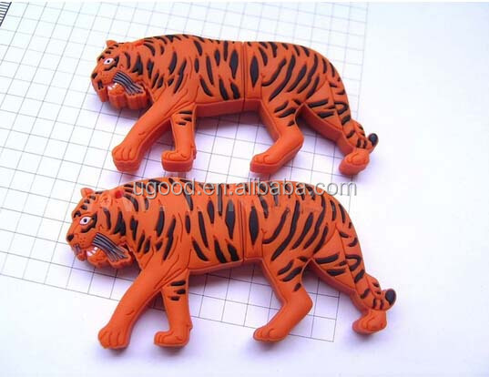 Best new gifts for zoo promotion Animal usb flash drive,Tiger USB memory 4GB/8GB