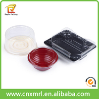 Custom food packaging plastic box disposable plastic fruit box small plastic boxes with lids