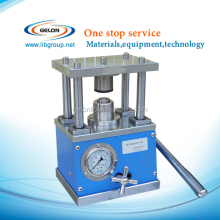 Compact Hydraulic Coin Cell Crimping Machine for All Button Cells, Coin press small machine
