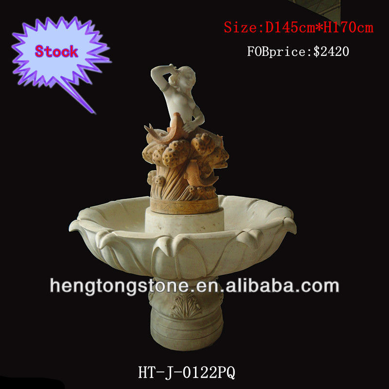 Luxury Marble Mermaid Fountain For Sell