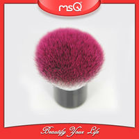 MSQ Colorful Synthetic Hair Kabuki Cosmetics Brush