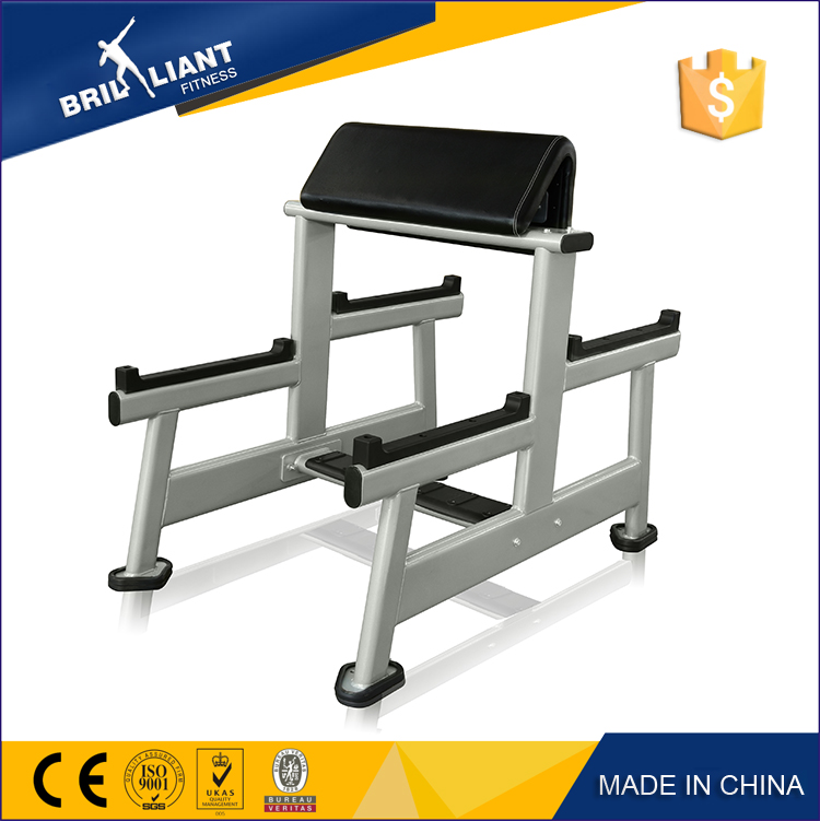 China New Design Commercial Strength Gym Equipment free weight manufacturer Preacher Curl
