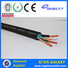 4Cores Dual PVC Coated Electric Wire Thin Household Stranded BVV type Electric Wire 450/750V 2mm 8mm 9mm 12mm