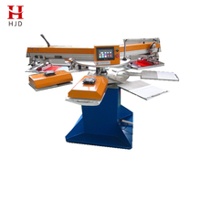 Factory Supply Full Automatic Garment Rotary Silk Screen Printing Machine