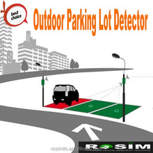 Surface Mounting Wireless Parking Lot Detection Sensor for Car parking guiding system
