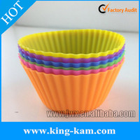 100% Silicone Private Label Silicone Baking Cups cupcake holders